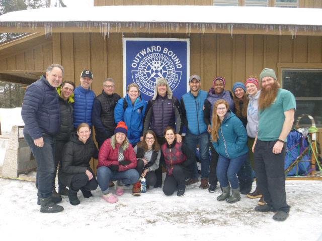 Gratitude for the Prouty Project Team after VOBS dog sledding course